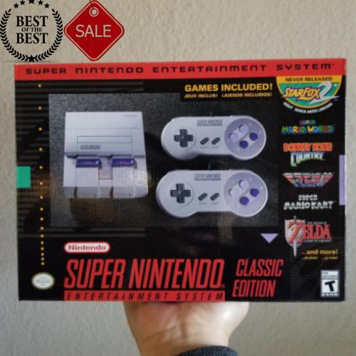 SNES Classic Mini Edition - Super Nintendo Entertainment Sys