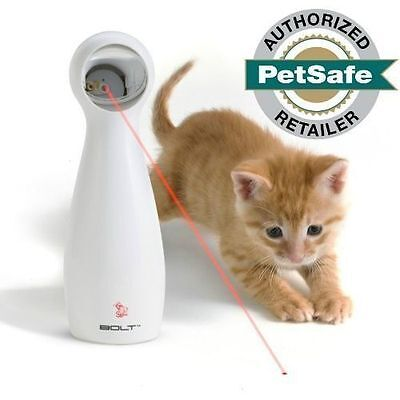 FroliCat BOLT Interactive Automatic Laser Light Pointer Pet Cat Exercise Toy