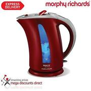Morphy Richards Red Kettle