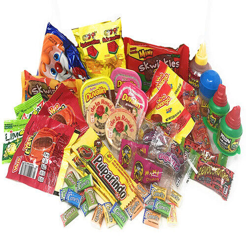 40-ct + Best Sellers Mexican Candy Assortment Box Set  Popular Mexican candy