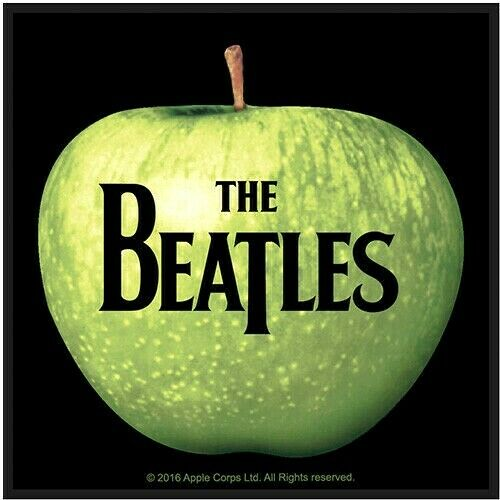 The Beatles - Apple Records Label Logo Patch [UK Import] Memorabilia Souvenir