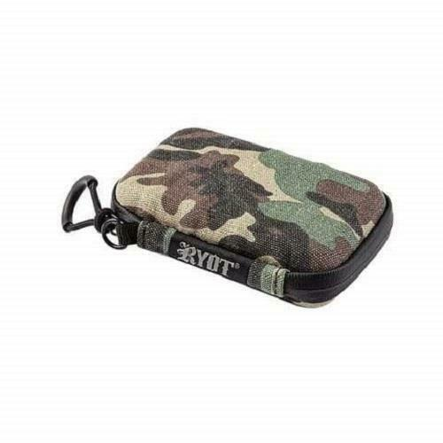 """RYOT SmellSafe Hard Shell Krypto-Kit Case 5"""" x 3"""" Smell Proof and Lockable CAMO"""