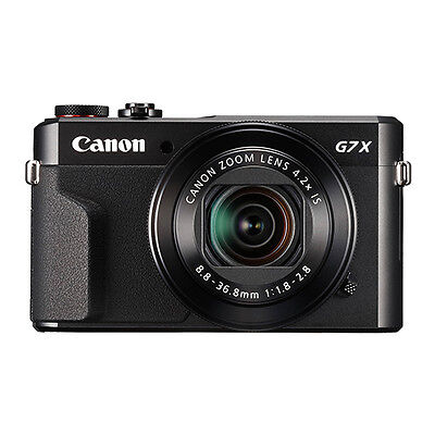 Canon PowerShot G7x Mark II 20.1MP Digital Camera 4.2x Optical Zoom Full-HD