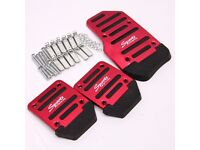 Racing Sports Manual Automobiles Non-Slip Foot Car Pedals Universal For Car Auto