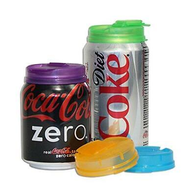 Soda Can Covers 1 Pack (4 pieces) for Carbonated Water or Soft Drink - Best (Best Water For Beer)