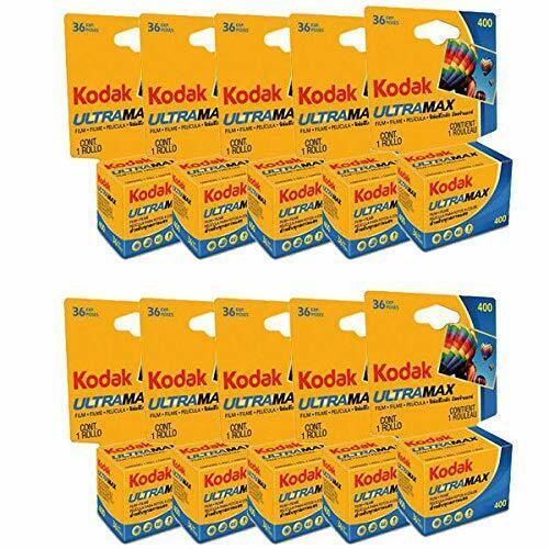 Kodak 603 4078 Ultramax 400 Color Negative Film (ISO 400) 35mm Format 10-Pack