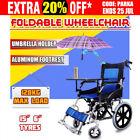 Unbranded Transport Wheelchair Wheelchairs