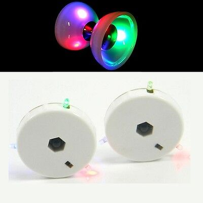 LED Diabolo Kit for Juggle Dream Diablos - Glow Diablo Conversion Kit - Pair