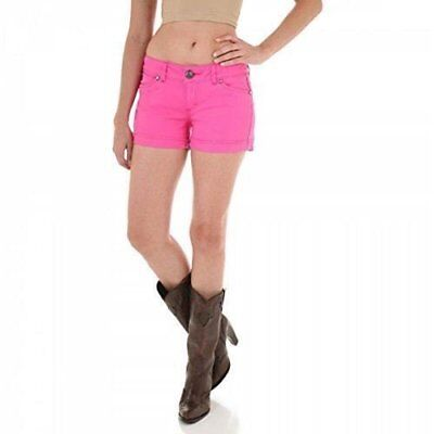 Womens Booty Shorts (Wrangler Womens Booty Up Pink Shorts 08MWHPK)