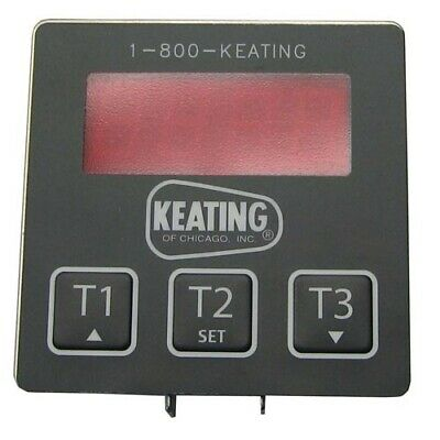 Keating Oem 056921 56921 3 X 3 Electronic Timer With 3 Presets