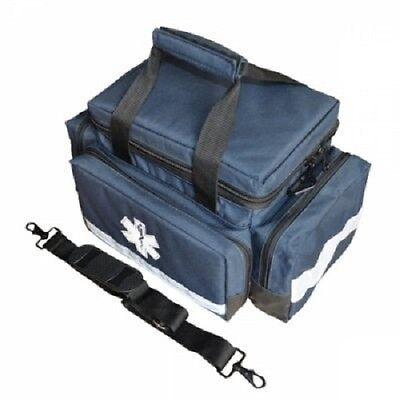 LINE2design EMS EMT Rescue Medical Supplies Professional Trauma Bag - Navy Blue