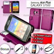 Samsung Galaxy Ace Cover Purple
