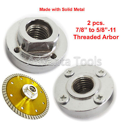 """2PK Metal Flush Cut (Mount) Adapter for Blade with 7/8""""/4 Hole (Flush Cut Blade Adapter)"""