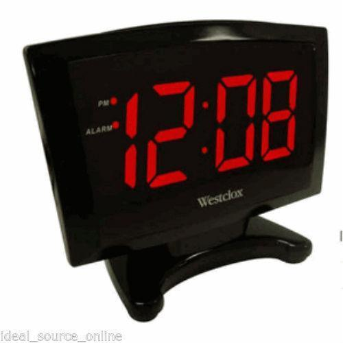 battery led clock ebay