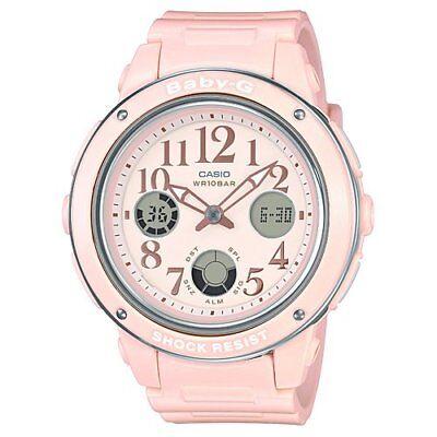 9e081433d738e NEW Casio Analog-Digital Casual Baby-G Pink Ladies BGA-150EF-4B