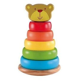 Early Learning Centre wooden teddy stacker.