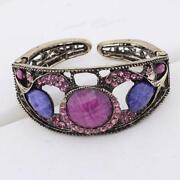 Vintage Rhinestone Bangle
