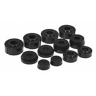 Prothane 66-79 Ford F100 F150 F250 F350 4WD Body Mount Bushing 12-piece (BLACK)