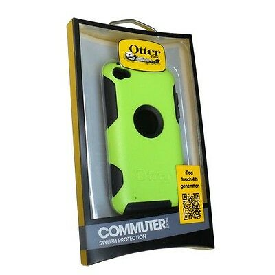 (OtterBox Commuter Series Case for iPod touch 4G - Black/Green)