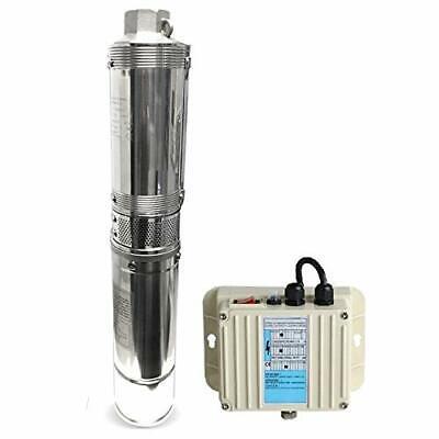 Schraiberpump 4 Deep Well Pump 1hp 230v 310ft 21gpm 134psi 3 Wire Wcontrol Box