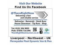 Man And Van @ThereRightNow   Rubbish Removals   Deliveries   Couriers   Tip Runs   House Clearances