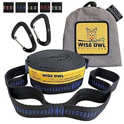 NEW Talon Hammock Straps By Wise Owl Outfitters - Combined 2