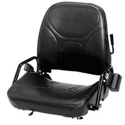 New Komatsu Style Folding Forklift Seat Fits Nissan Cat Clark Caterpillar Toyota