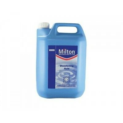Milton Disinfecting Fluid 5 Litres Kill Bacteria, Fungi and Viruses