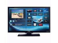 "Edge lit LED28"" LED Ultra Slim Television with Smart, Freeview HD,"