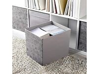 Ikea Box Storage Grey (1-13 boxes available)