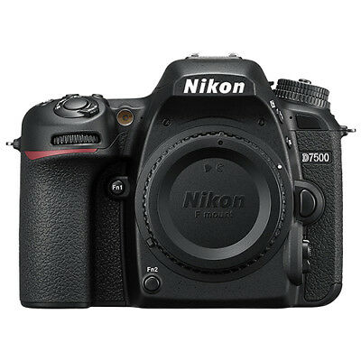 Nikon D7500 20.9MP DX-Format CMOS Digital SLR Camera Body