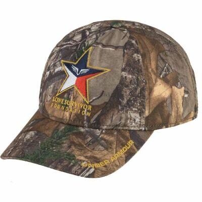 buy popular 97c97 09a37 Under Armour Men s Hat, Camo, Lone Survivor Logo Cap, Snapback, Realtee, NWT