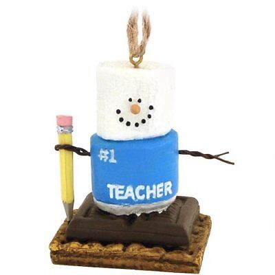 S'mores Best Teacher Christmas Ornament - Graham (Best Christmas Crackers)