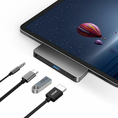 USB C Hub Adapter for iPad Pro Accessories 2018 2020 12.9