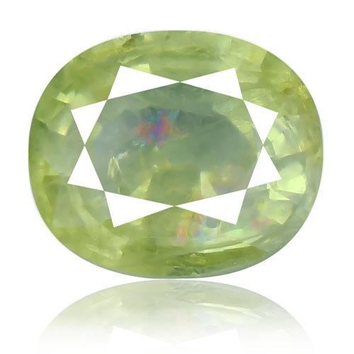 Tsavorite Family Garnet 8.32ct yellowish green color 100% natural earth mined