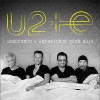 U2  SAMEDI 13 JUIN 2015 EXCELLENT BILLETS CORPO section 110!!