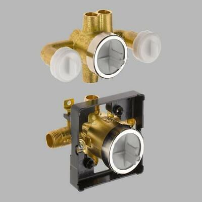 Delta R18000-XO Delta Jetted Shower Rough-In Valve w/ extra Outlet (6-Setting)
