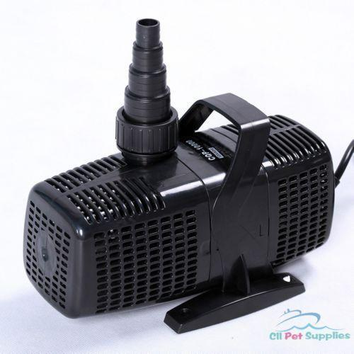 Inline pond pump ebay for External fish pond filters