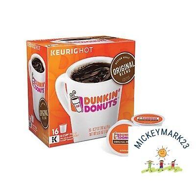 Dunkin Donuts Original Blend K-Cups coffee 192 Count - FREE SHIPPING Dunkin Donuts Free Coffee
