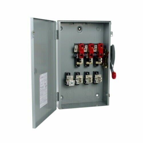 EATON CUTLER HAMMER DG324NRK 200AMP 240VAC 3R Safety Switch 4 Wire
