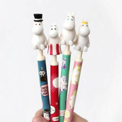 Moomin Figure Topper PVC Ball Point Pen 0.5mm Black Ink Cute Design(random)
