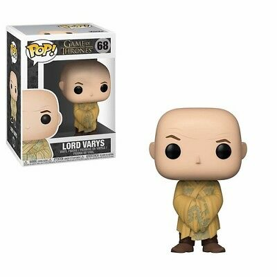 FUNKO POP! TELEVISION: Game of Thrones S9 - Lord Varys [New Toy] Vinyl Figure