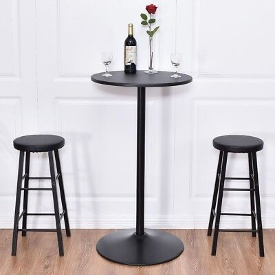 Домашние пабы 3Pcs/Set Round Bar Table