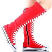 Womens Red Boots