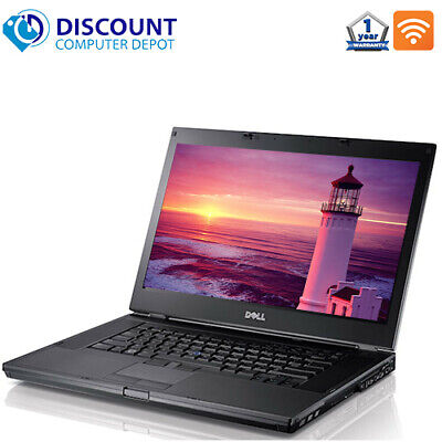 Laptop Windows - Dell Laptop E6410 Computer Core i5 Windows 10 8GB 250GB HD DVD Wifi Window 10 PC