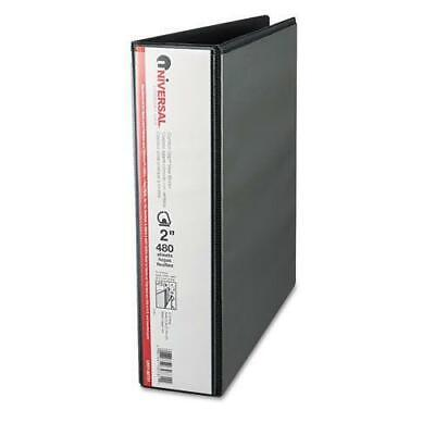 Universal Comfort Grip Deluxe Plus D-ring View 3-ring Binder 2 In. Capacity Bl
