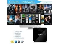 2017 MXQ M8S 4K Quad Core Android 6.0 TV Box Fully Loaded KODI XBMC Media Player free football movie