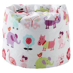 pour enfants pouf poire mignon animaux domestiques filles enfants ebay. Black Bedroom Furniture Sets. Home Design Ideas