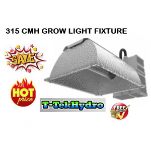 T-TekHydro:315W CERAMIC METAL HALIDE GROW LIGHT COMPLETE FIXTURE