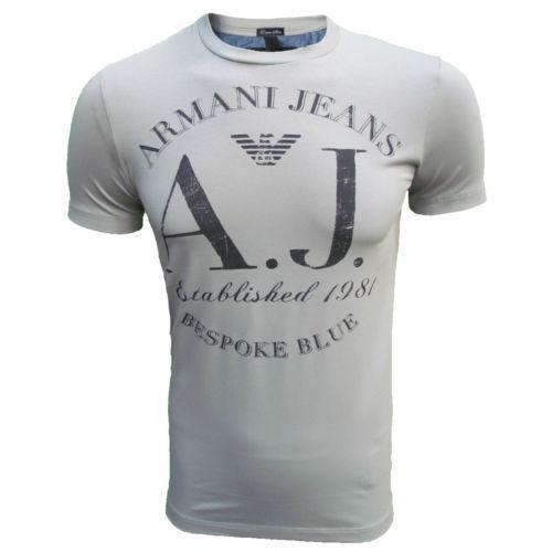 armani jeans t shirt ebay. Black Bedroom Furniture Sets. Home Design Ideas